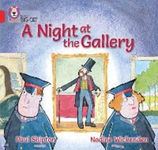 A Night at the Gallery: Band 02a/Red a - Paul Shipton - cover