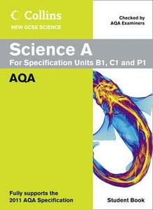 Science A Student Book: AQA - Mary Jones,Mike Tingle,Louise Petheram - cover