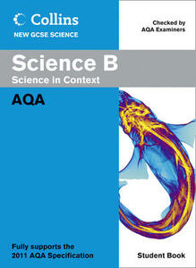 Science B Student Book: AQA - cover