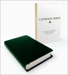 Catholic Bible: New Revised Standard Version (NRSV) Anglicised Deluxe edition with the Grail Psalms - cover