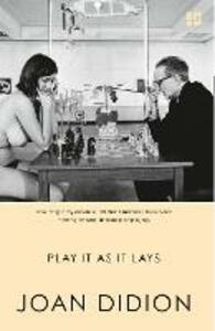 Play It As It Lays - Joan Didion - cover