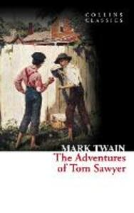 The Adventures of Tom Sawyer - Mark Twain - cover