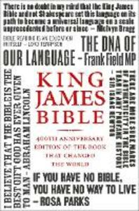 Ebook in inglese King James Bible: 400th Anniversary edition of the book that changed the world -, -