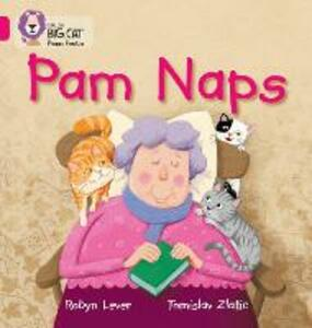 Pam Naps: Band 01a/Pink a - Robyn Lever - cover