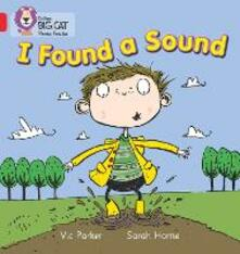 I Found a Sound: Band 02b/Red B - Vic Parker - cover