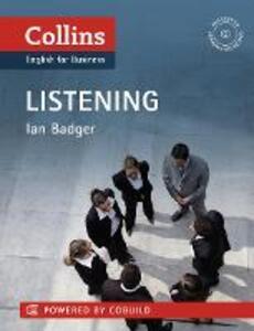 Business Listening: B1-C2 - Ian Badger - cover