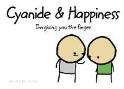 Ebook in inglese Cyanide and Happiness: I'm Giving You the Finger Dav, ave , Kri, ris , Mat, att , Ro, ob