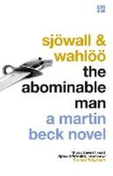 The Abominable Man - Maj Sjoewall,Per Wahloeoe - cover