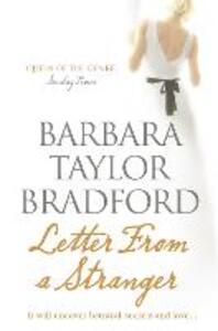 Letter from a Stranger - Barbara Taylor Bradford - cover
