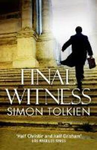 Ebook in inglese Final Witness Tolkien, Simon