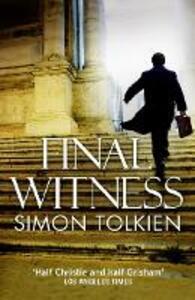 Final Witness - Simon Tolkien - cover