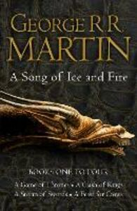 Ebook in inglese Game of Thrones: The Story Continues Books 1-4: A Game of Thrones, A Clash of Kings, A Storm of Swords, A Feast for Crows (A Song of Ice and Fire) Martin, George R. R.