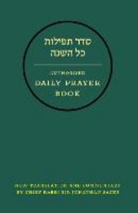 Ebook in inglese Hebrew Daily Prayer Book Sacks, Jonathan