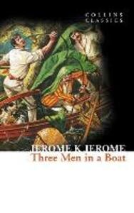 Three Men in a Boat - Jerome K. Jerome - cover