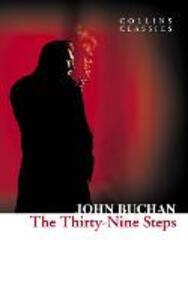 The Thirty-Nine Steps - John Buchan - cover