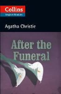 After the Funeral: B2 - Agatha Christie - cover