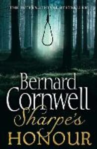 Sharpe's Honour: The Vitoria Campaign, February to June 1813 - Bernard Cornwell - cover