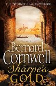 Sharpe's Gold: The Destruction of Almeida, August 1810 - Bernard Cornwell - cover