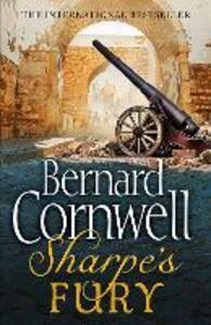 Sharpe's Fury: The Battle of Barrosa, March 1811 - Bernard Cornwell - cover