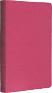 Holy Bible: English Standard Version (ESV) Anglicised Pink Thinline edition - Collins Anglicised ESV Bibles - cover