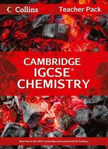Cambridge IGCSE Chemistry Teacher Pack - Chris Sunley,Sue Kearsey,Andrew Briggs - cover