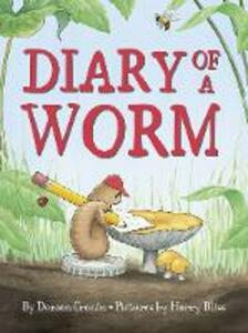 Diary of a Worm - Doreen Cronin - cover