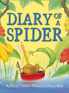 Diary of a Spider - Doreen Cronin - cover