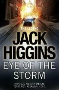 Eye of the Storm - Jack Higgins - cover