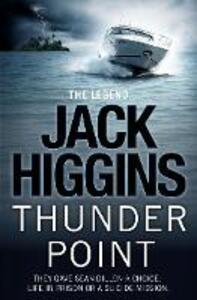 Thunder Point - Jack Higgins - cover