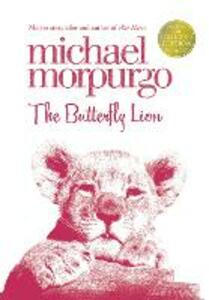 The Butterfly Lion - Michael Morpurgo - cover