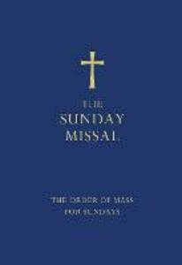 The Sunday Missal (Blue edition): The New Translation of the Order of Mass for Sundays - cover