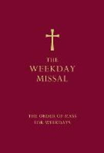 The Weekday Missal (Red edition): The New Translation of the Order of Mass for Weekdays - cover