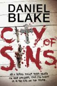 Ebook in inglese City of Sins Blake, Daniel