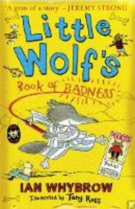 Little Wolf's Book of Badness - Ian Whybrow - cover
