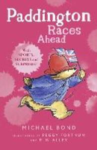 Paddington Races Ahead - Michael Bond - cover