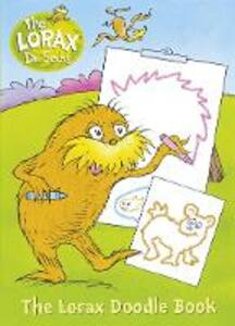 The Lorax: Colour and Create - Dr. Seuss - cover