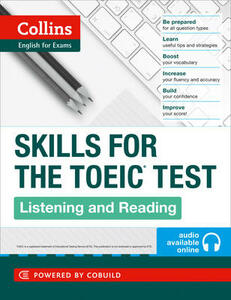 TOEIC Listening and Reading Skills: Toeic 750+ (B1+) - cover