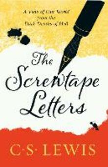 The Screwtape Letters: Letters from a Senior to a Junior Devil - C. S. Lewis - cover