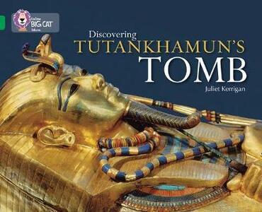 Discovering Tutankhamun's Tomb: Band 15/Emerald - Juliet Kerrigan - cover