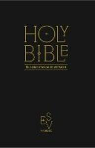 Holy Bible: English Standard Version (ESV) Anglicised Black Gift and Award edition - Collins Anglicised ESV Bibles - cover
