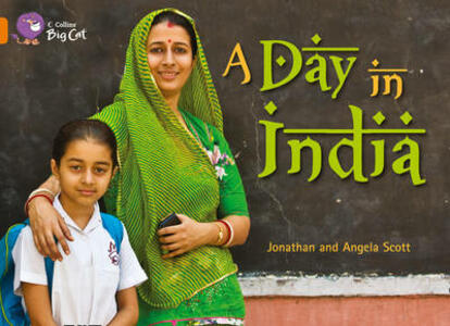 A Day in India Workbook - cover
