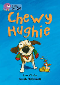 Chewy Hughie: Band 07/Turquoise - Jane Clarke - cover