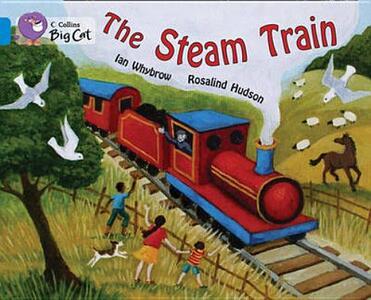 The Steam Train Workbook - cover