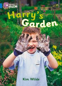 Harry's Garden Workbook - cover