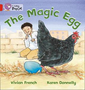 The Magic Egg Workbook - cover