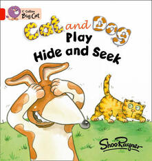 Cat and Dog Play Hide and Seek Workbook - cover