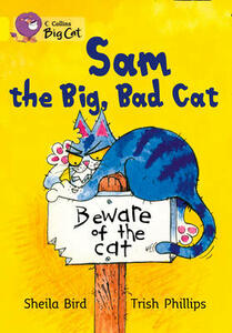 Sam The Big, Bad Cat Workbook - cover