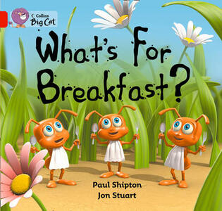 What's For Breakfast: Band 02b/Red B - Paul Shipton - cover