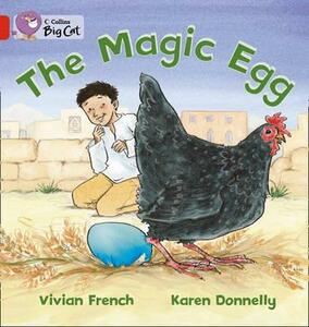 The Magic Egg: Band 2a/Red - Vivian French,Karen Donnelly - cover