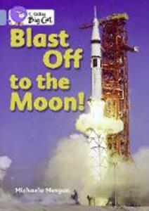 Blast off to the Moon! Workbook - cover